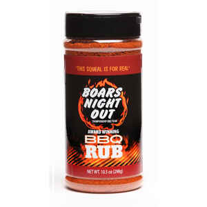 Boar's Night Out  BBQ Rub  10.5 oz.