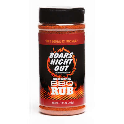 Boar's Night Out  BBQ  BBQ Rub  10.5 oz.