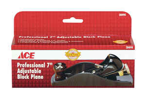Ace  7 in. L x 1.6 in. W Block Plane  Cast Iron
