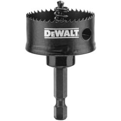 DeWalt Impact Ready 1-3/8 in. Dia. x 5/8 in. L Bi-Metal Impact Ready Hole Saw 1/4 in. 1 pc.