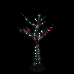 Santa's Best  Branch Tree LED  Lighted Halloween Decoration  60 in. H x 42 in. W x 42 in. L 1 pk