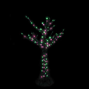 Santa's Best  Branch Tree LED  Lighted 60 in. H x 42 in. W x 42 in. L 1 pk Halloween Decoration