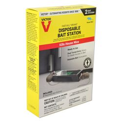 Victor  Fast-Kill  Toxic  Bait Station  For Mice 0.75  2 pk