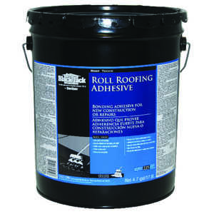 Black Jack  Gloss  Black  Roofing Sealant  Roll Roofing Adhesive  5 gal.