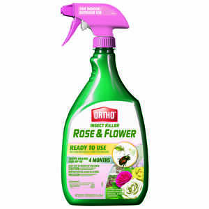 Ortho  Rose & Flower  Insect Killer  24 oz.