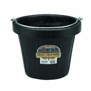 Little Giant  12 qt. Bucket  Black
