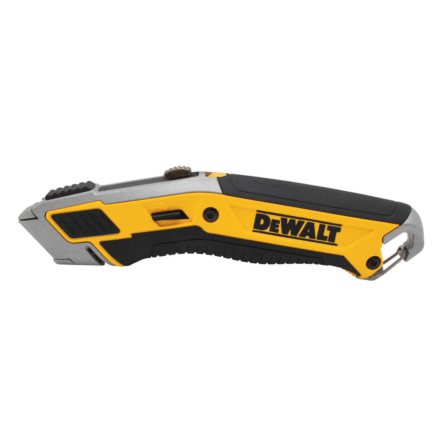 DeWalt  7 in. Retractable  Utility Knife  Black/Yellow  1 pk