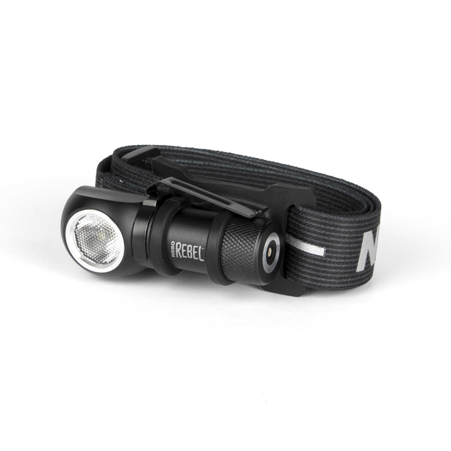 Nebo  REBEL  600 lumens Black  LED  Head Lamp  CR123A Battery