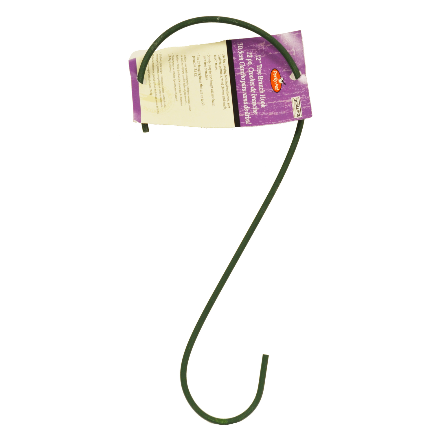 Perky-Pet  12.38 in. H x 0.2 in. D x 4.88 in. W Bird Feeder Hook