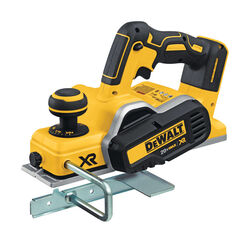 DeWalt  3-1/4 in. Cordless  Brushless Planer  20 volt 0.0787 in. D