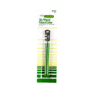 Fletcher  Six-Wheel  4 in. Fixed Blade  Glass Cutter  1 pc. Green