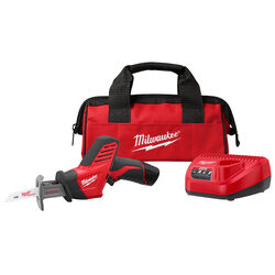 Milwaukee  M12 HACKZALL  12 volt Cordless  Brushed  Reciprocating Saw  Kit (Battery & Charger)