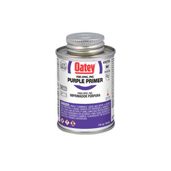 Oatey  Purple  Primer  For CPVC/PVC 4 oz.