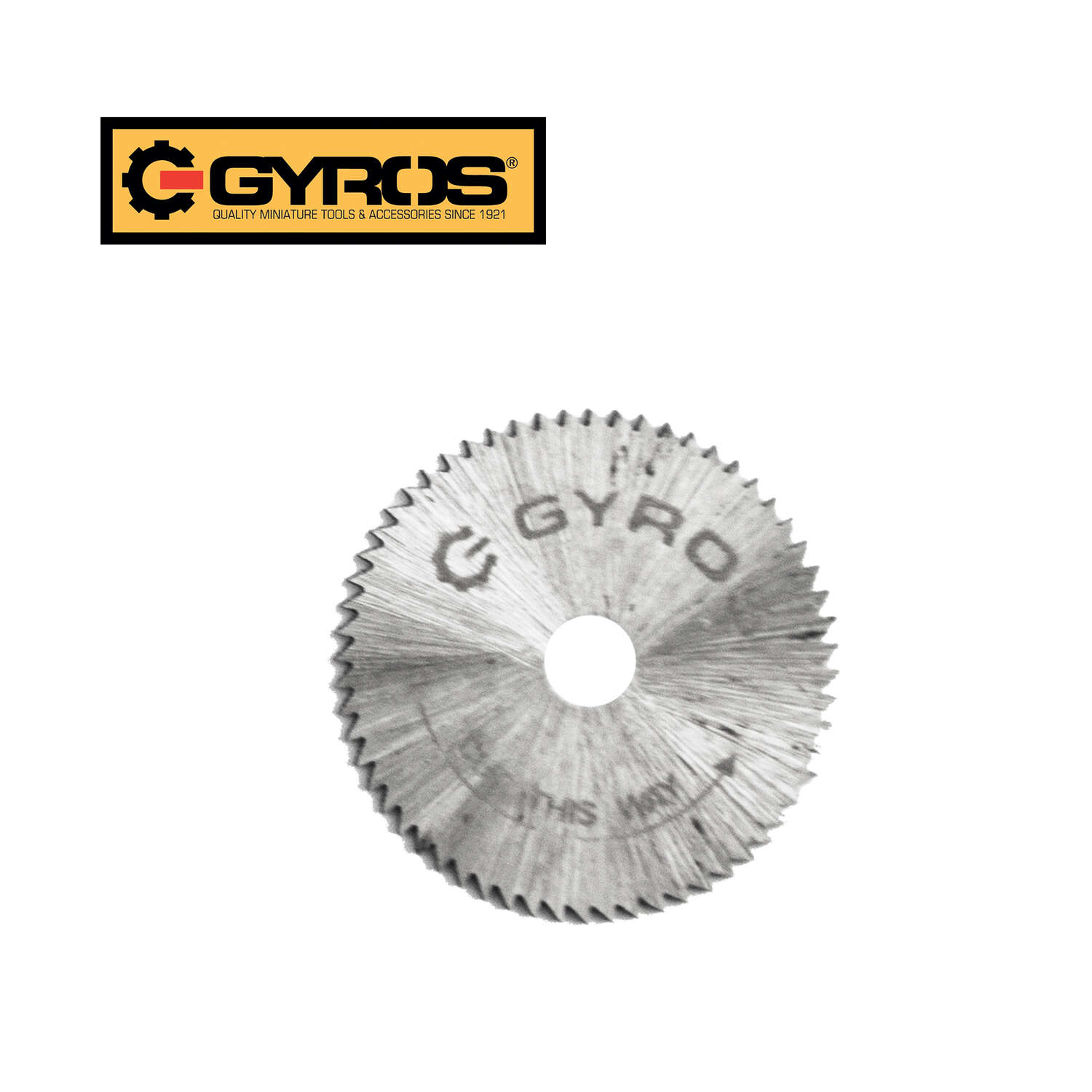 Gyros Tools  0.015 in.  Steel  Circular Saw Blade  1/8 in.  60 teeth 1 pk Circular Power Saw Blades