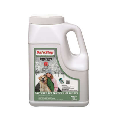 Safe Step Sure Paws Magnesium Chloride Pet Friendly Granule Ice Melt 8 lb.