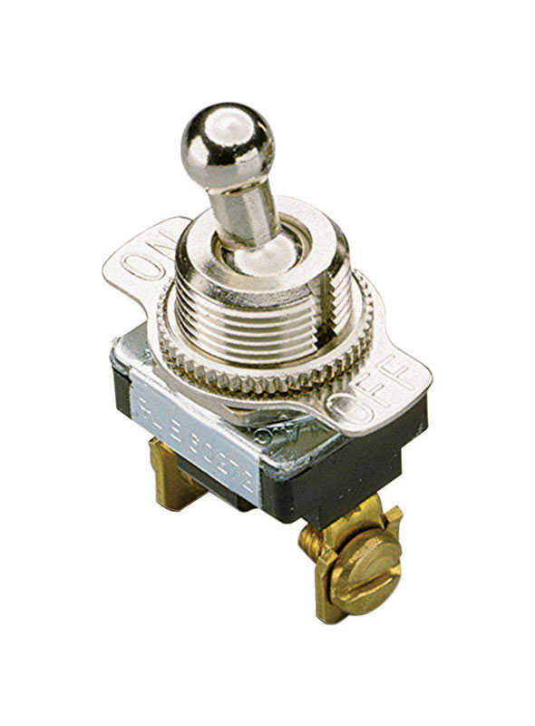 Gardner Bender  20 amps Single Pole  Toggle  Switch  Silver  1 pk
