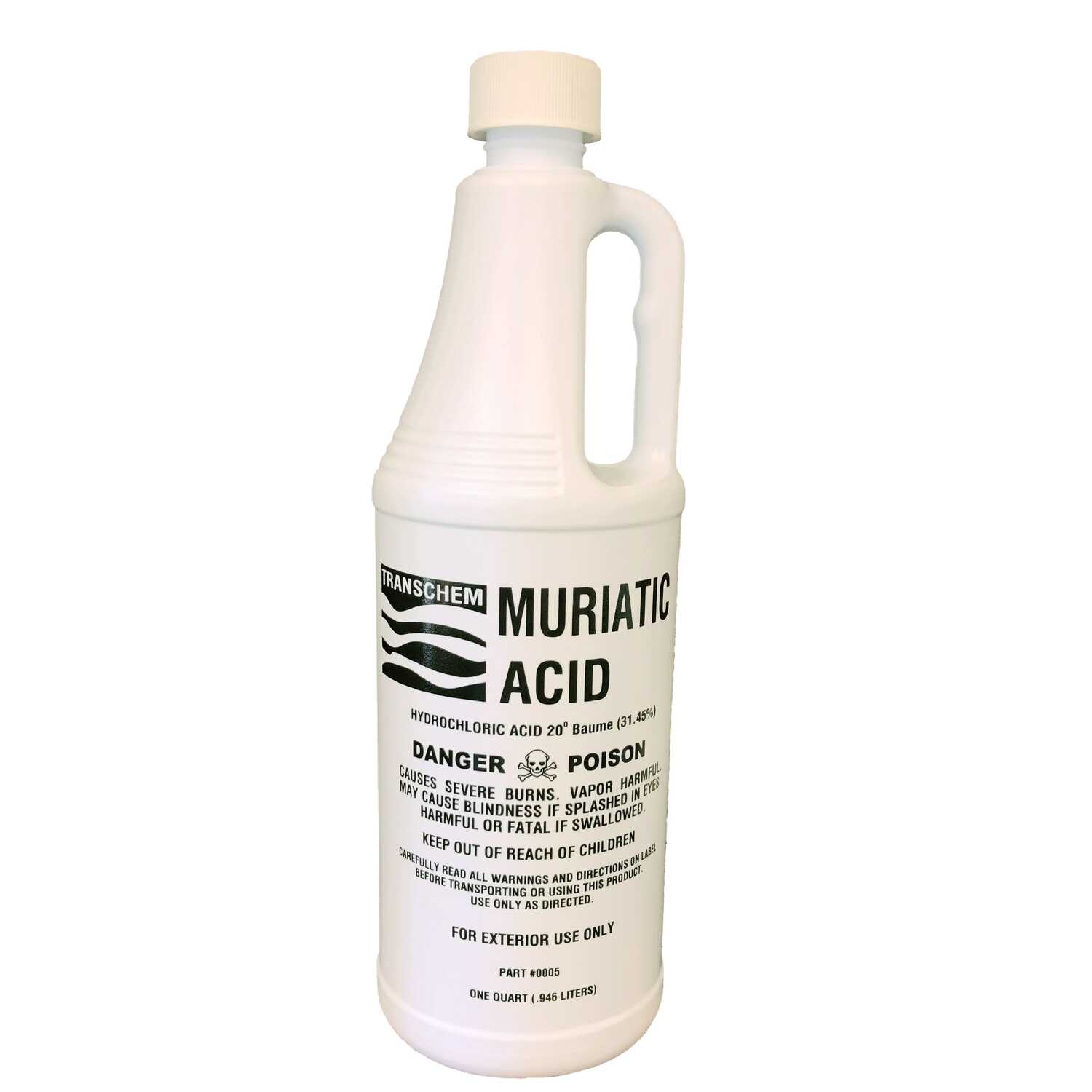 Transchem Muriatic Acid 1 Qt Liquid Ace Hardware