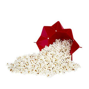 Chef'n  Pop Top  Red  Popcorn Topper