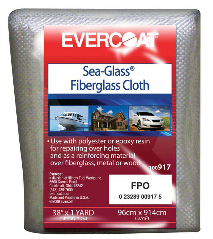 Evercoat Sea Glass Fiberglass Cloth