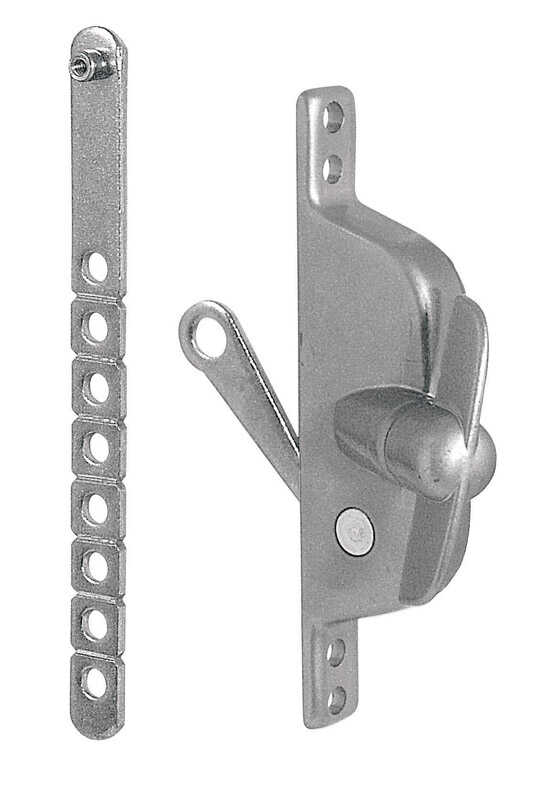 Prime-Line  Gray  Cast Metal  Left/Right  Universal  Louver Operator  For Universal