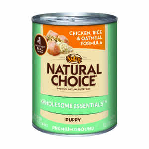 Nutro  Natural Choice Wholesome Essentials  Chicken and Rice  Dog Food  12.5 oz.