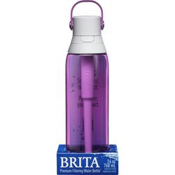 Brita  Premium  26 oz. Filtered Water Bottle  Orchid