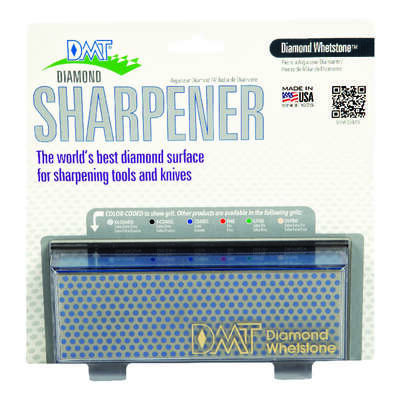 DMT  Diamond Whetstone  6 in. L Diamond/Nickel  Diamond Whetstone Sharpener  325 Grit 1 pc.
