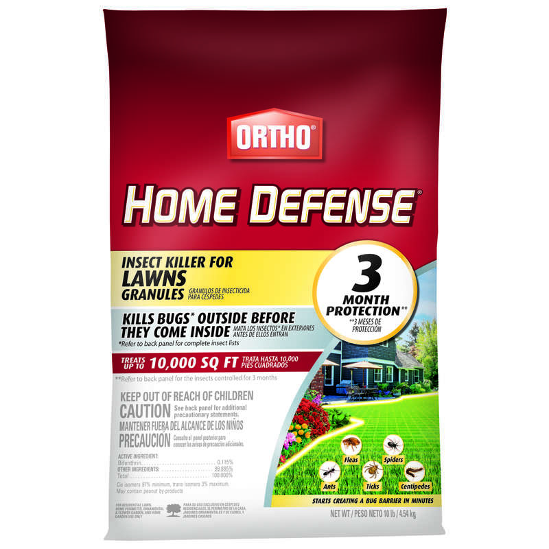 Ortho Home Defense Granules Insect Killer for Lawns 10 lb.
