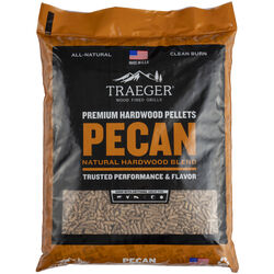 Traeger All Natural Pecan Hardwood Pellets 20 lb.