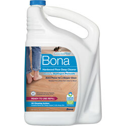 Bona PowerPlus No Scent Hardwood Floor Cleaner Liquid 160 oz.