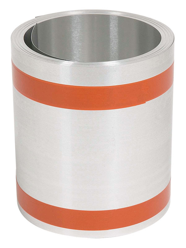 Amerimax  12 in. H x 5-1/2 in. W x 50 ft. L Silver  Aluminum  Cylindrical  Roll Flashing