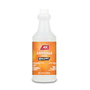 Ace  Clean Scent Ammonia  32 oz. Liquid