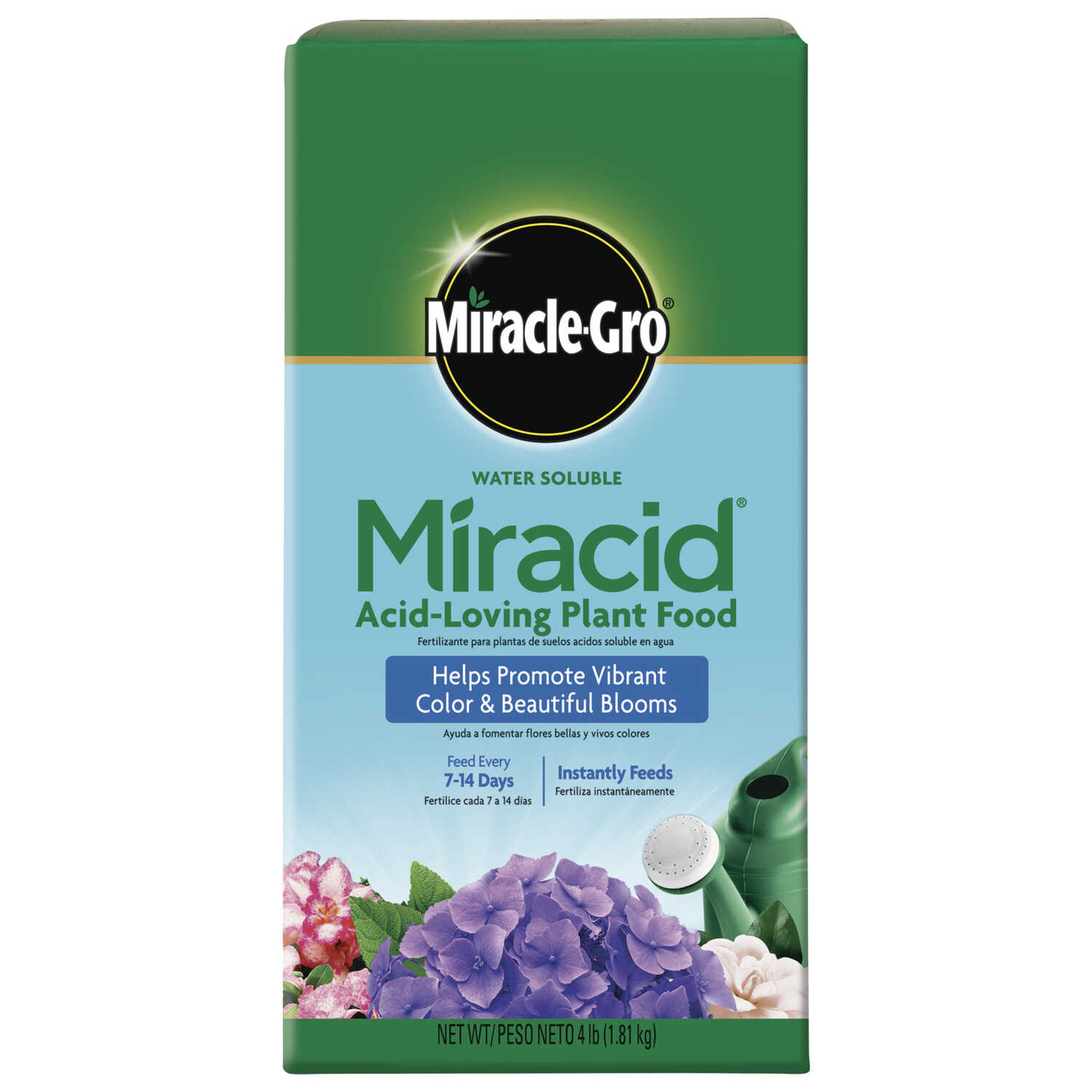 Miracle-Gro  Miracid  Powder  Plant Food  4 lb.