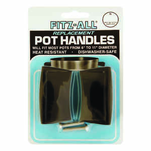 TOPS  Plastic  Replacement Pot Handles  Black