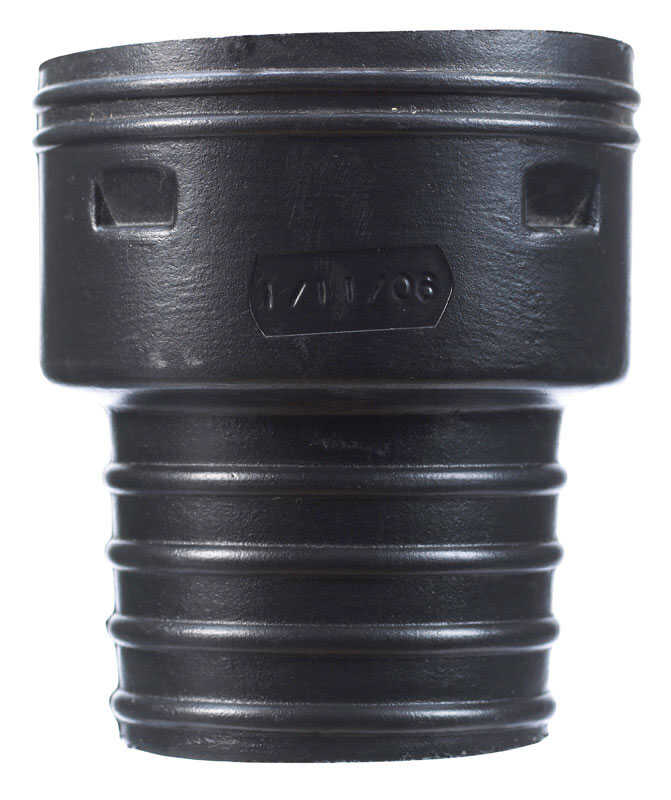 ADS  3 in. Polyethylene  Corrugated-to-Clay Pipe Adapter