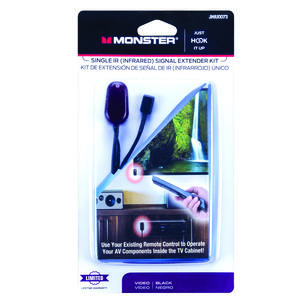 Monster Cable  Just Hook It Up  IR Kit  1 pk