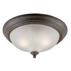 Westinghouse 6-1/8 in. H x 13 in. W x 13 in. L Ceiling Light