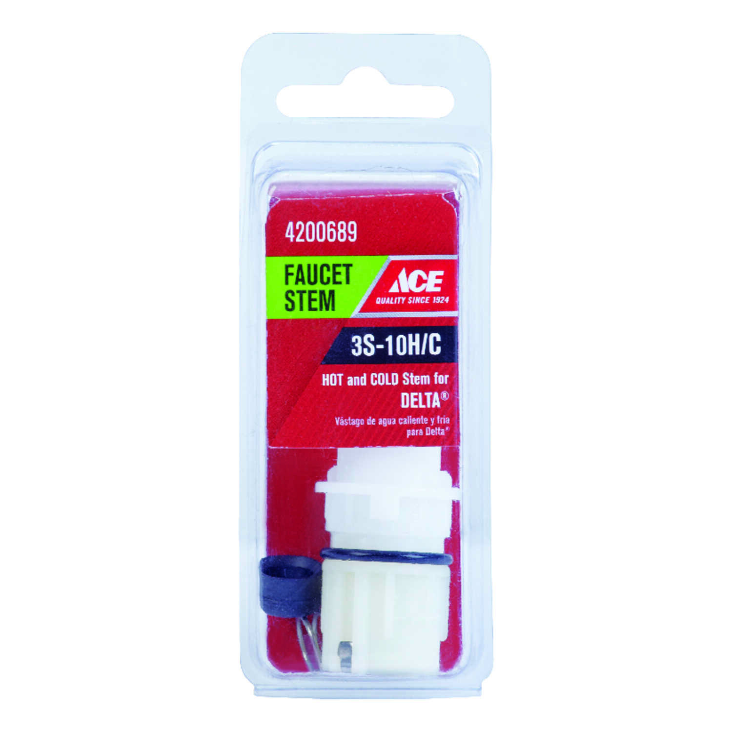 Ace  Hot and Cold  3S-10H/C  Faucet Stem  For Delta