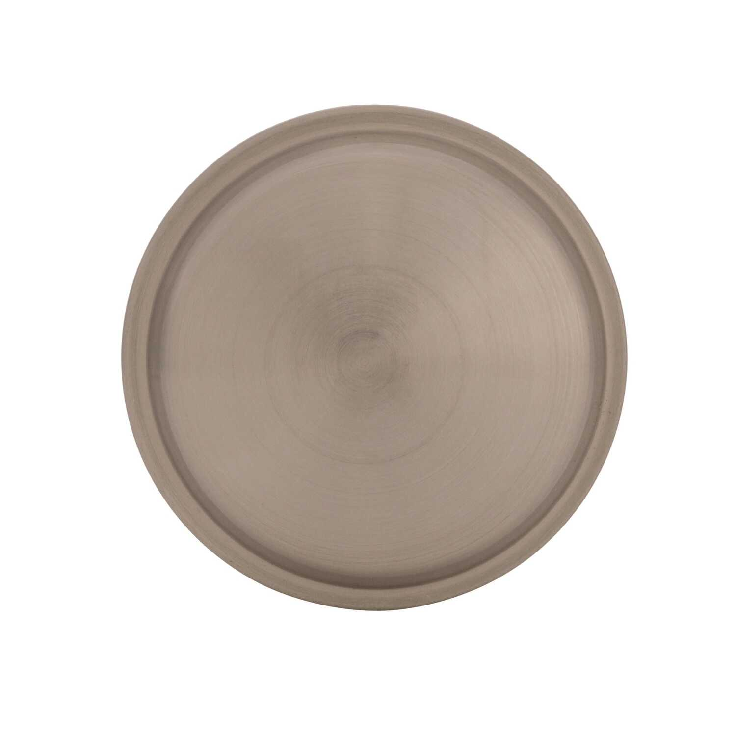 Amerock  Westerly Collection  Round  Cabinet Knob  1-3/16 in. Dia. 1-1/8 in. Satin Nickel  1 pk