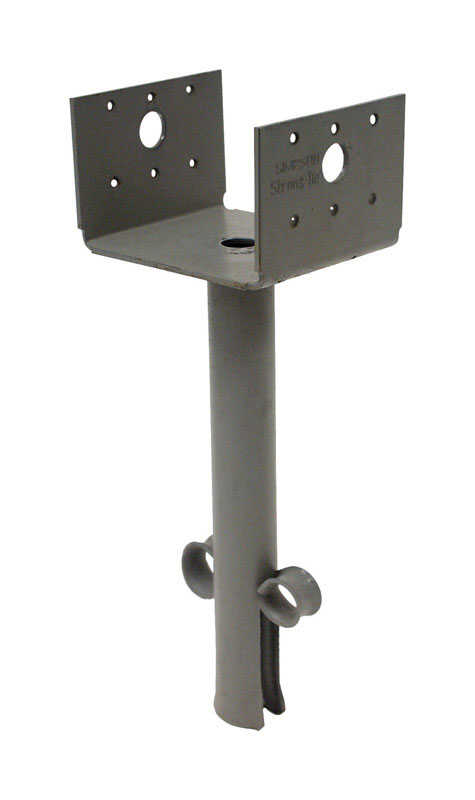 Simpson Strong-Tie  10.31 in. H x 3.56 in. W 12 Ga. Steel  Elevated Post Base