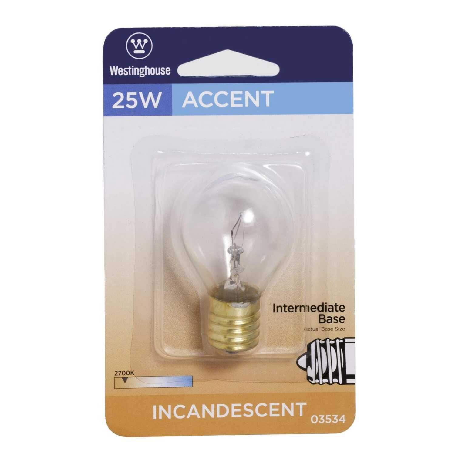 Westinghouse 25 Watts S11 Speciality Incandescent Bulb E17