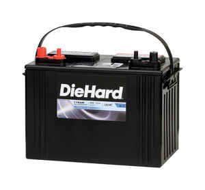 Diehard  Marine Deep Cycle  12 volt Marine Battery  12 Volt volt