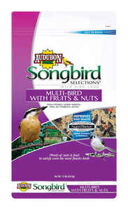 Audubon Park  Songbird Selections  Songbird  Wild Bird Food  Fruits and Nuts  15 lb.