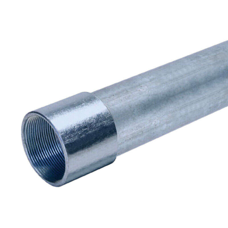 Allied Moulded  2-1/2 in. Dia. x 10 ft. L Galvanized Steel  Electrical Conduit  For Rigid