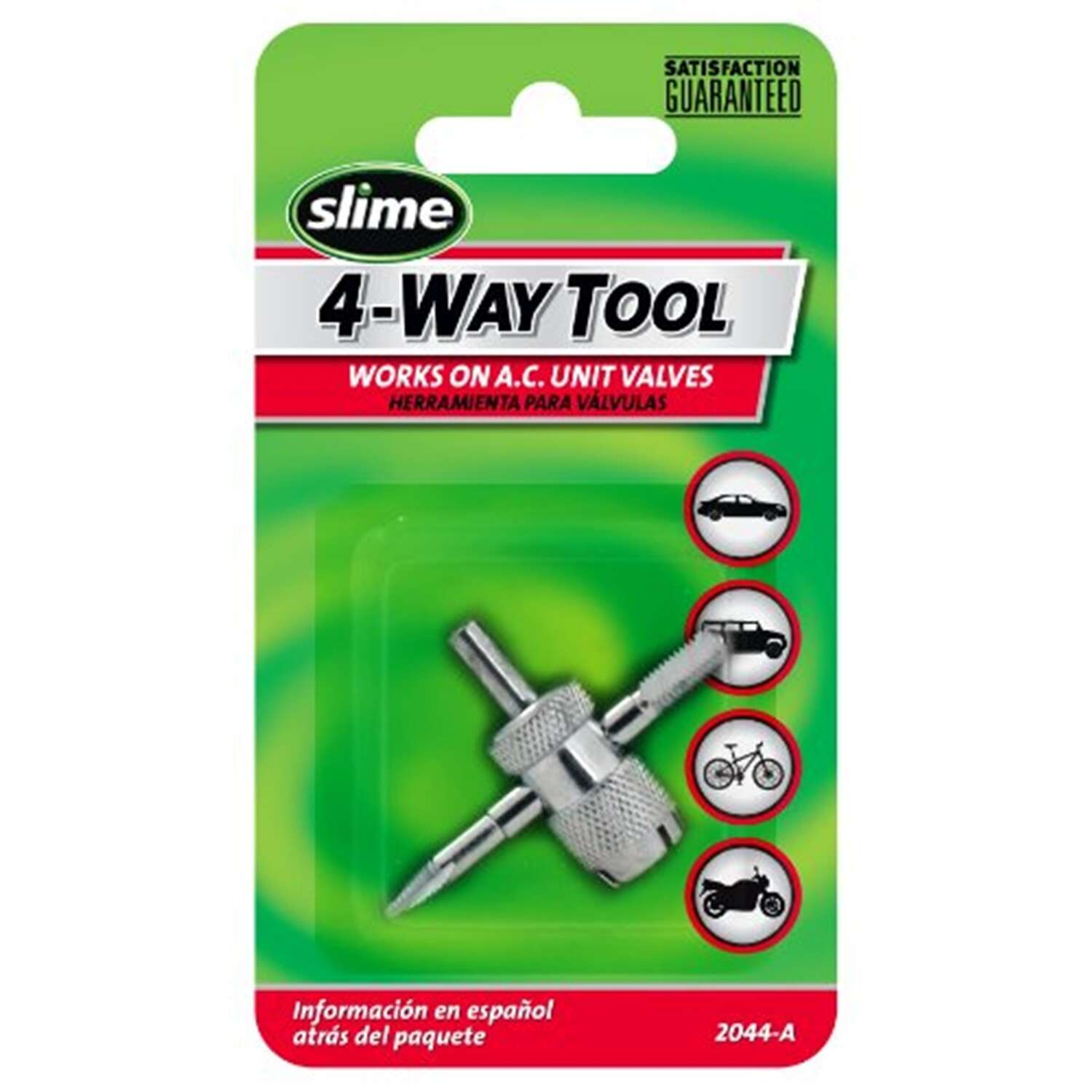 Slime  4-Way  Tire Valve Repair Tool  For All