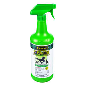 Pyranha  Zero-Bite  Liquid  Natural Insect Repellent  For All Animals 32 oz.