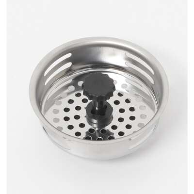 Farberware Chrome Stainless Steel Kitchen Sink Strainer