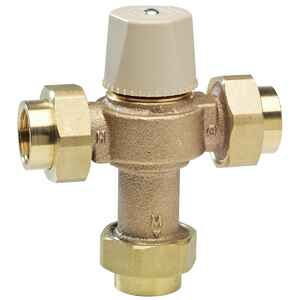 Watts  3/4  Brass  Mixing Valve
