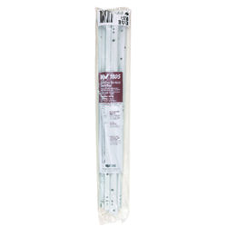 Knape & Vogt 22 in. L Steel Self Close Drawer Slide 2 pk