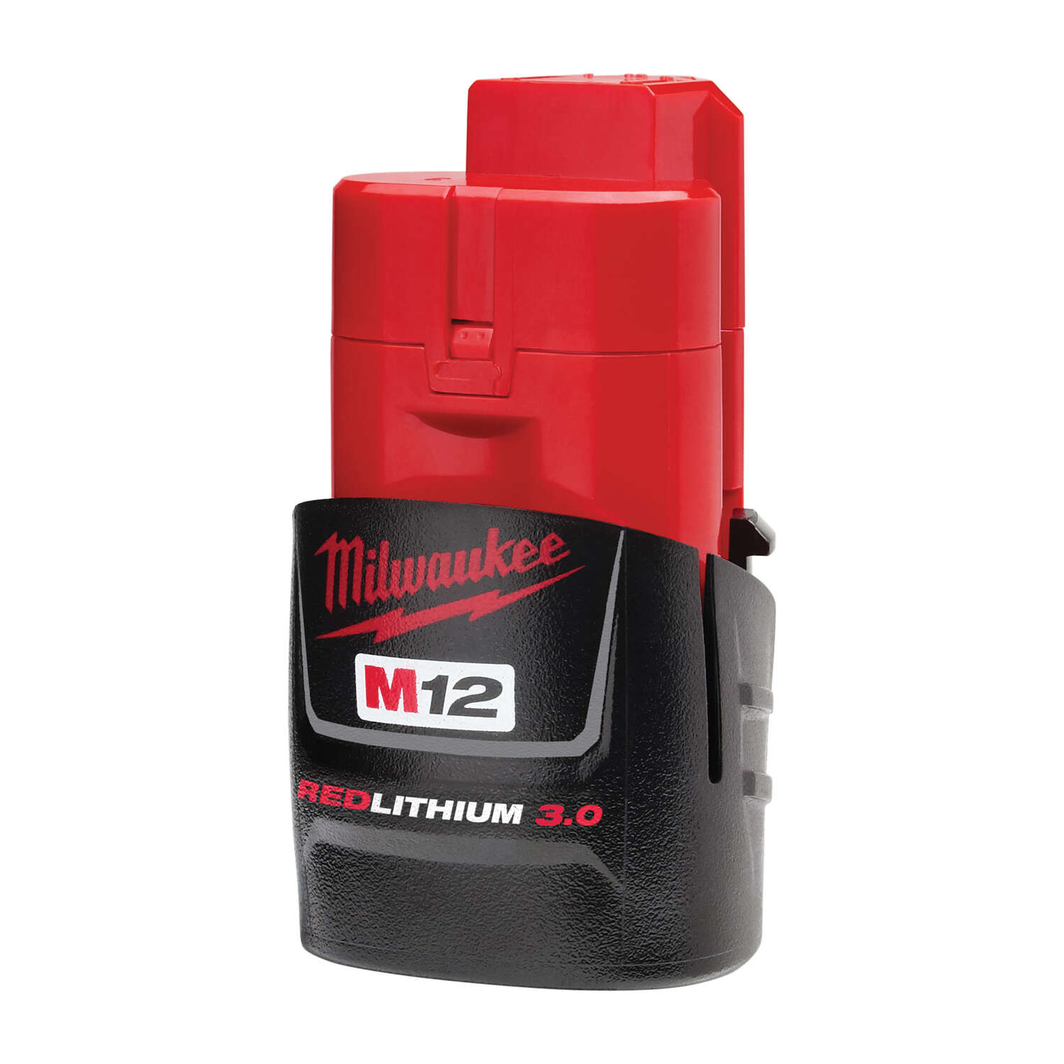 Milwaukee  M12 3.0  RED LITHIUM 3.0  12 volt Lithium-Ion  Battery Pack  1 pc.